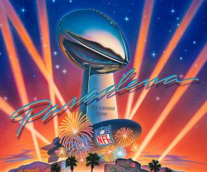 SuperBowl XXVII (Pasadena) Poster